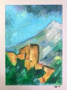 Landscape, after Paul Cézanne